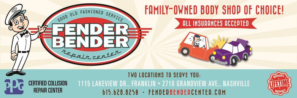 Fender Bender Repair Center