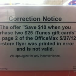 Photo Of Office Max   Rancho Cucamonga, CA, United States. Bad, False