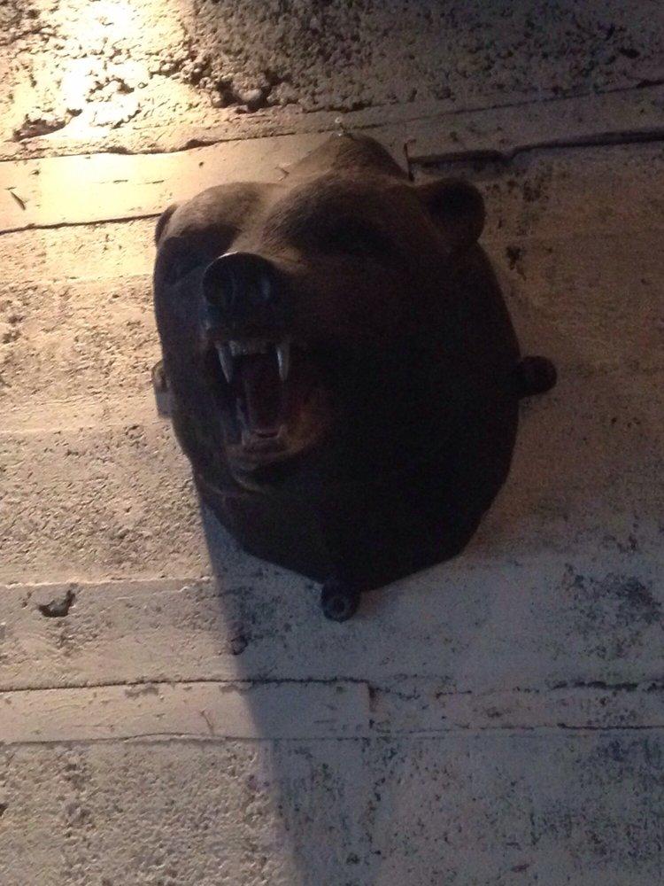 Grrrrr! Bear Head Wall Decoration - Yelp