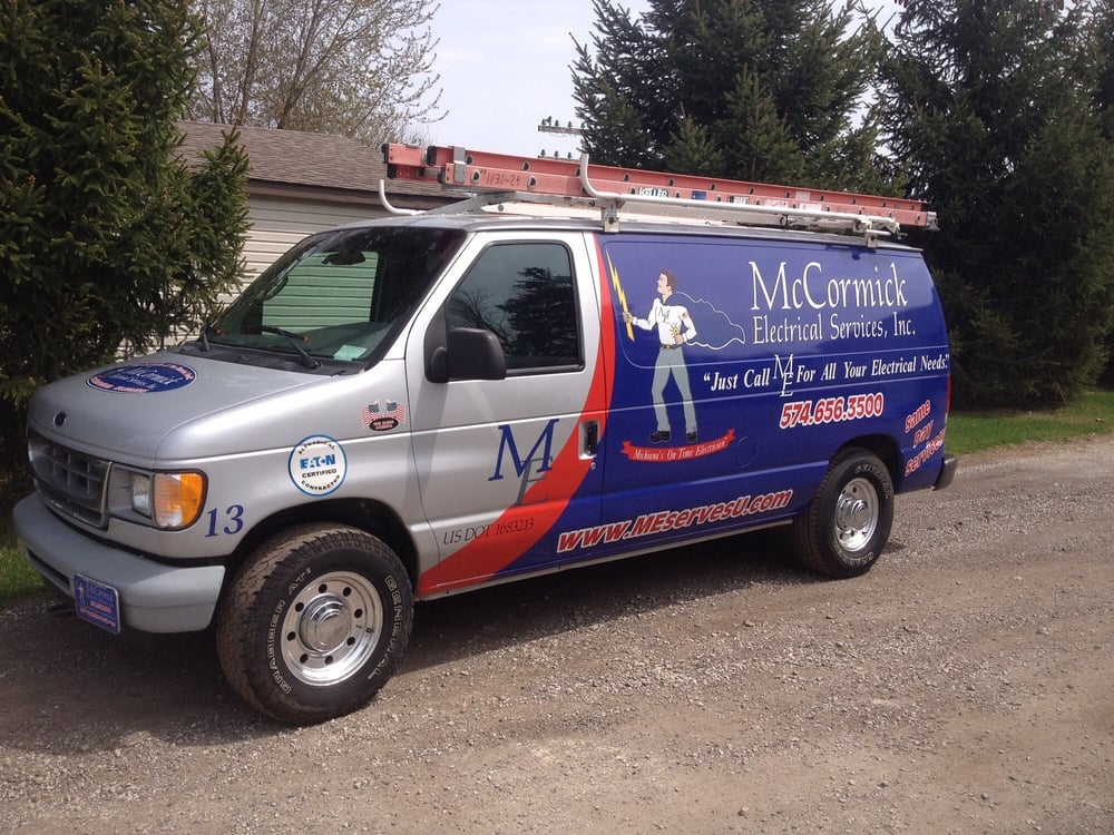 McCormick Electrical Services: 606 East Center St, North Liberty, IN