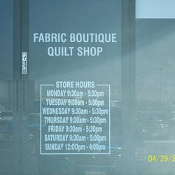Fabric Boutique - CLOSED - Fabric Stores - 2101 S Decatur Blvd ... : quilt stores in las vegas nv - Adamdwight.com