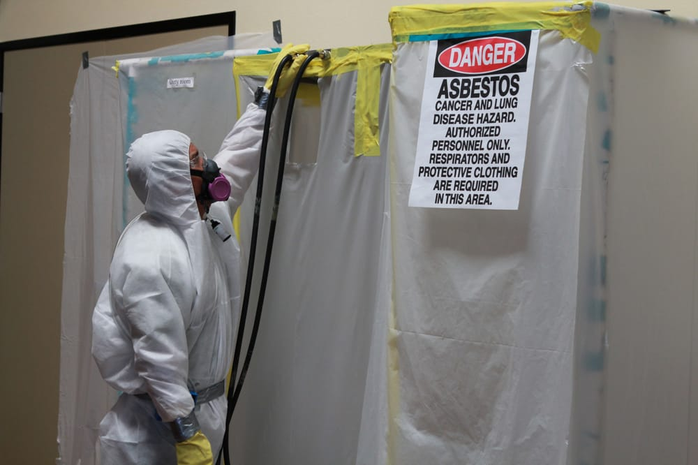 Asbestos Containment And Hazardous Sign Yelp