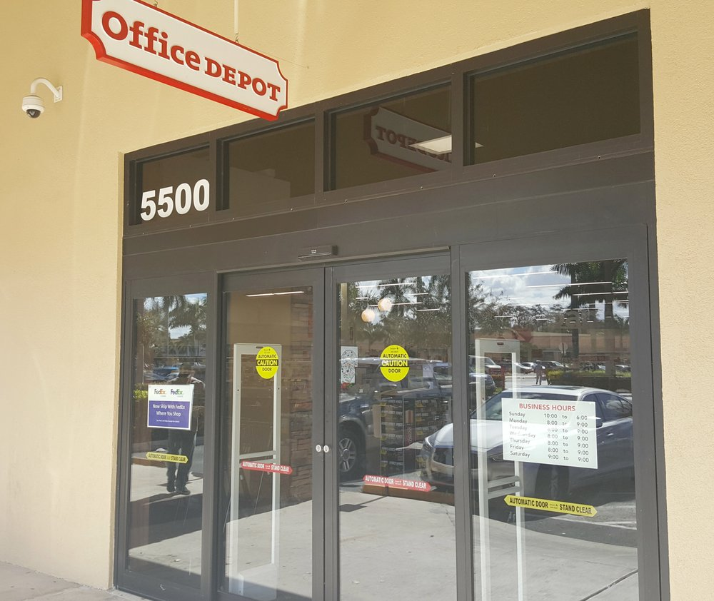 Office depot 10 reviews office equipment 5500 w sample rd margate fl phone number yelp - Office depot store near me ...