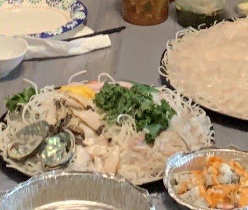 Food from Woori sushi