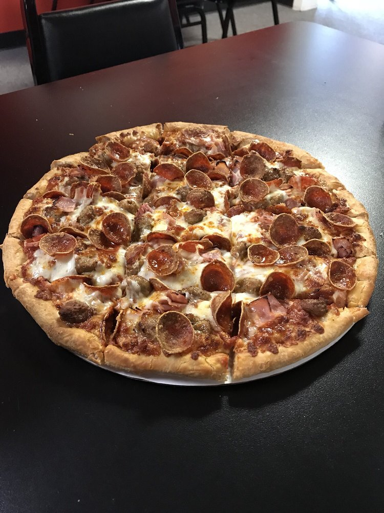 Big City Pizza: 1460 Jefferson St, Greenfield, OH