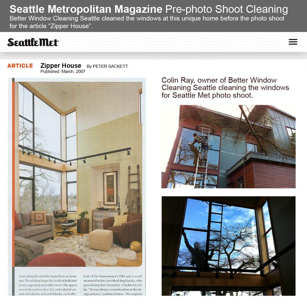 Better window cleaning seattle 42 foto e 30 recensioni for Pulizia della casa