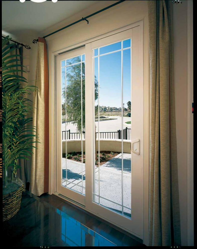 French Style Vinyl Sliding Glass Door Yelp