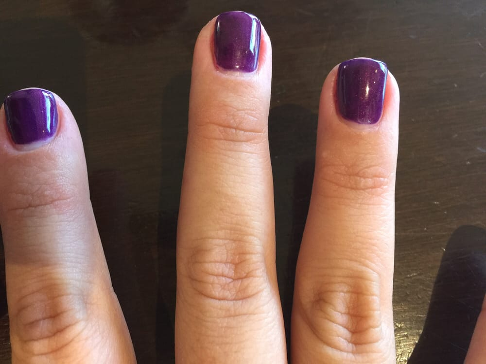 My gel nail gap-the polish doesn\'t hit my nail bed and I hate that ...
