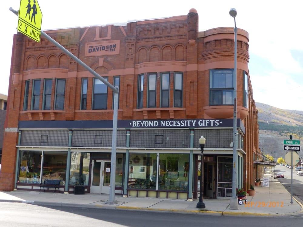 Beyond Necessity Gifts: 301 E Park Ave, Anaconda, MT