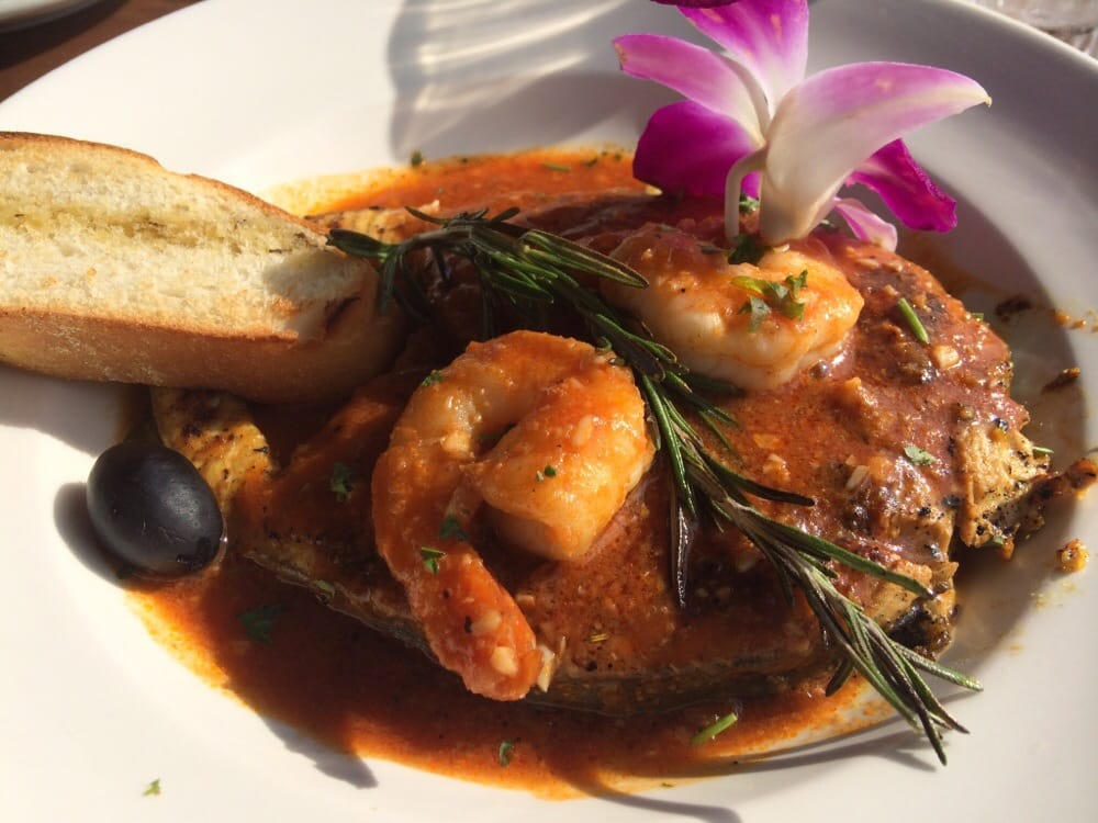 Cobia steak special with shrimp in peruvian sauce yes for Garcia s seafood grille fish market