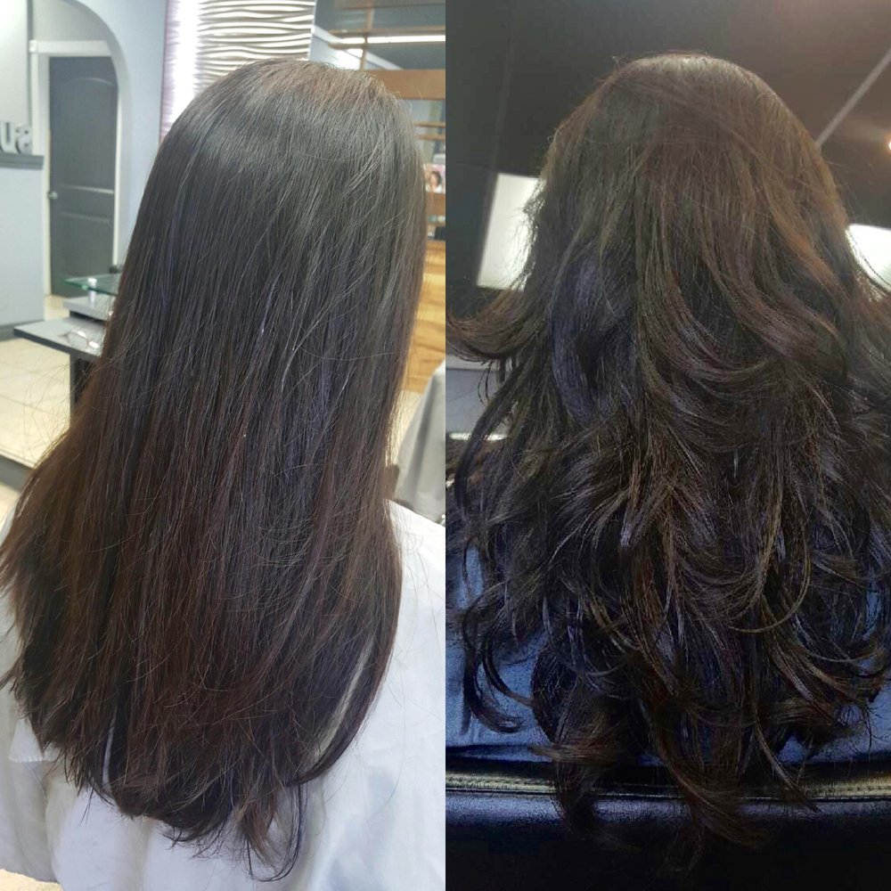 Before Amp After Setting Perm With Botox Treatment Yelp
