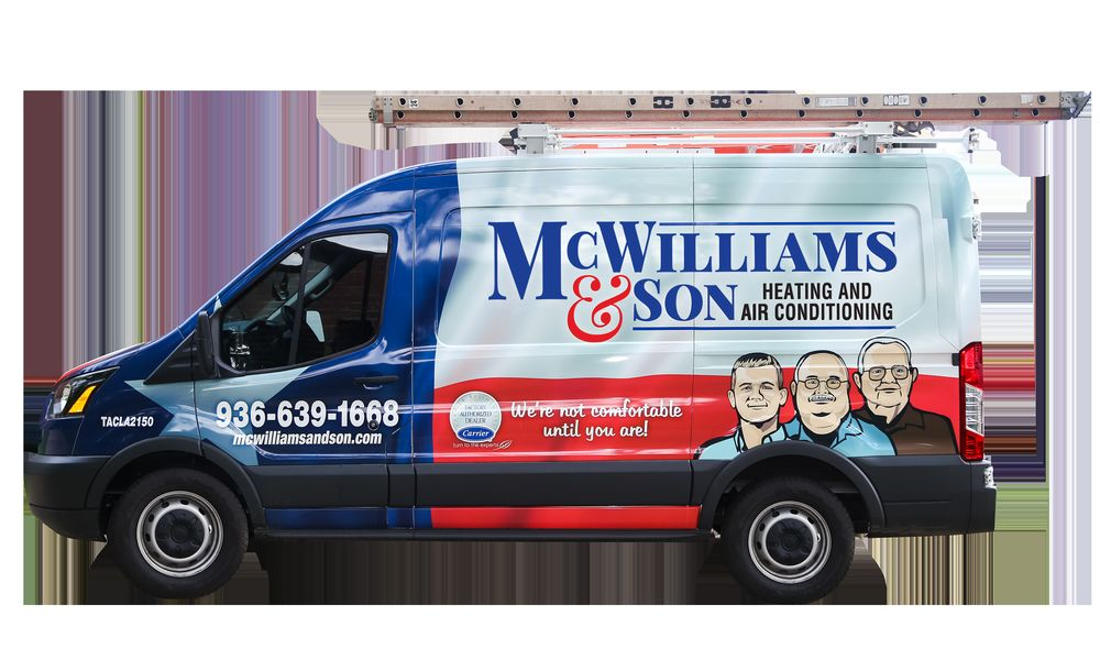 McWilliams & Son Heating and Air Conditioning: 918 E Denman Ave, Lufkin, TX