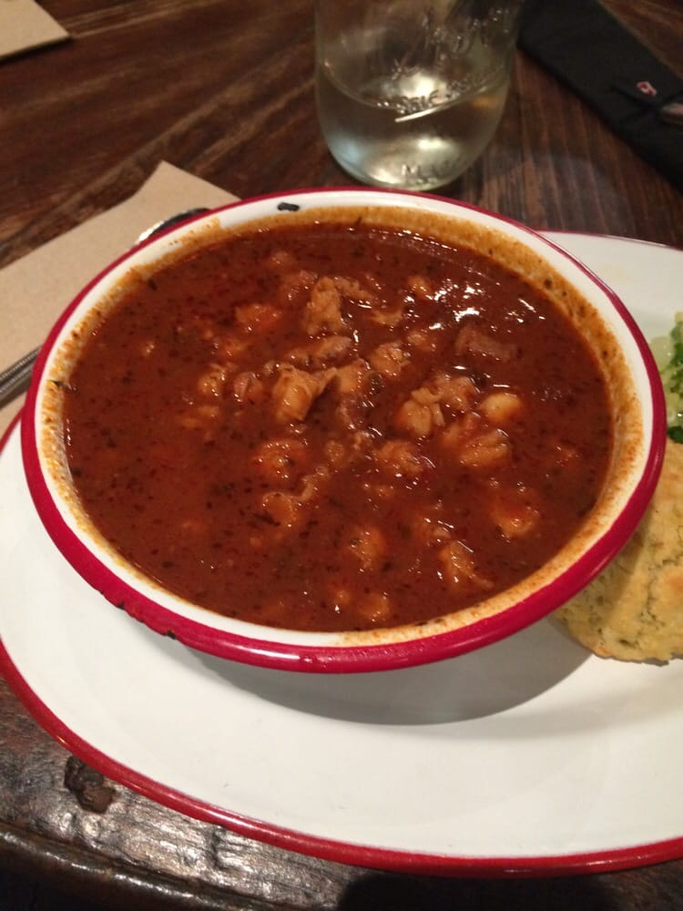 Red chile chicken posole stew - Yelp