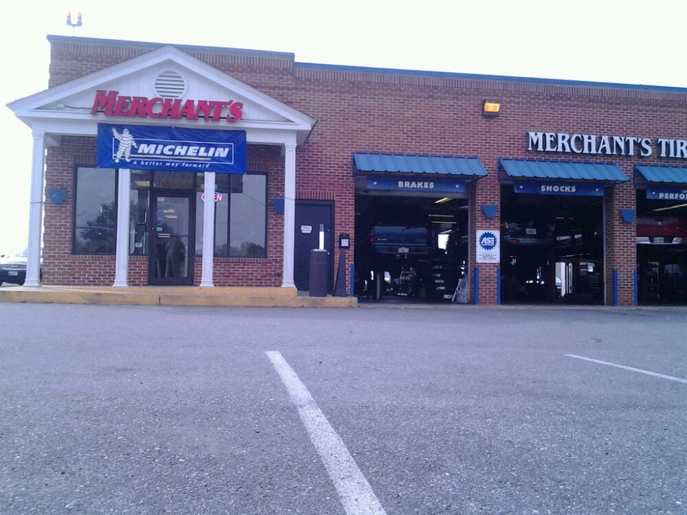 Merchants Tire Near Me >> Merchant's Tire & Auto Centers - Tires - 18820 Woodfield ...