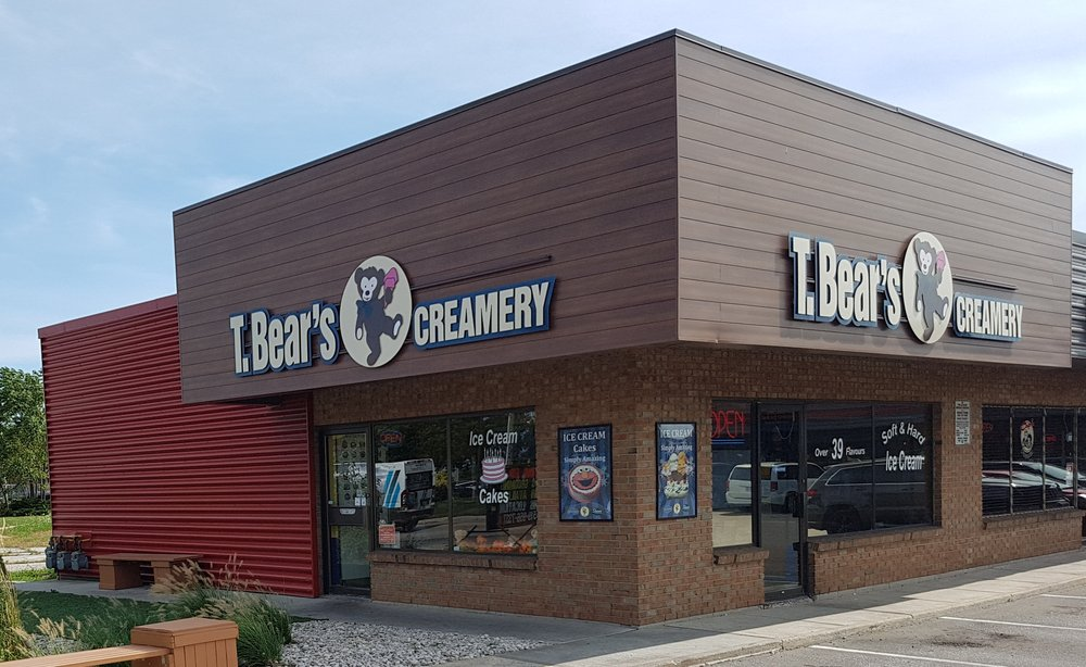 T Bears Creamery: 9945 Tecumseh Road E, Windsor, ON