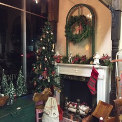 Photo Of Portico   Topeka, KS, United States. Christmas Mock Up Of