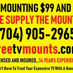 TV Mounting Service Free TV Mounts - 835 Photos & 28 Reviews
