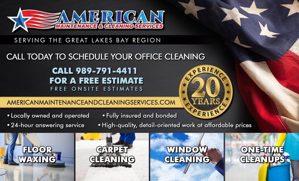 American Maintenance and Cleaning Services - Carpet Cleaning - 3243 Christy Way N, Saginaw, MI - Phone Number - Yelp