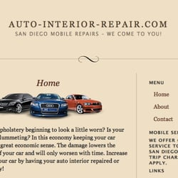 Photo Of Auto Interior Repair   San Diego, CA, United States