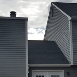 Captivating Photo Of Pyramid Roofing   Manchester, NH, United States. Back Of House  After