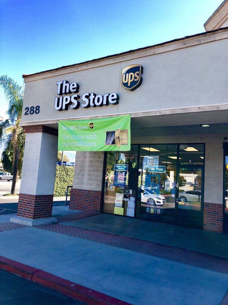 The UPS Store: 288 E Live Oak Ave, Arcadia, CA