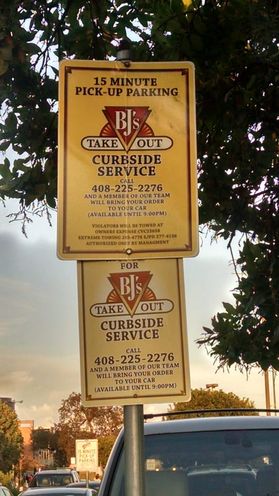 Photo Of Bj S Restaurant Brewhouse San Jose Ca United States Curbside