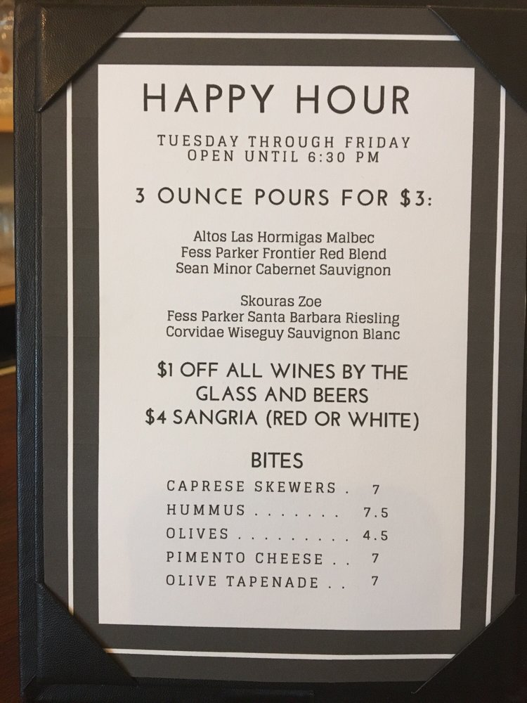 Red's Wine Bar: 414 Walnut St, Green Cove Springs, FL