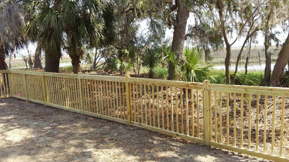Jdh Decks Fences 17 Photos Gates 226 Old Buckhalter Rd Savannah Ga Phone Number Last Updated December 8 2018 Yelp