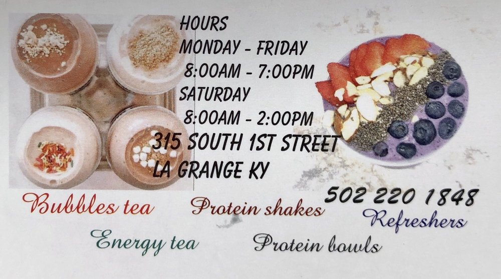 Oldham Nutrición: 315 S 1st St, La Grange, KY