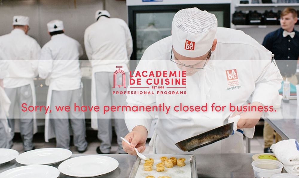 L academie de cuisine closed 21 photos 23 reviews for Academie de cuisine bethesda md