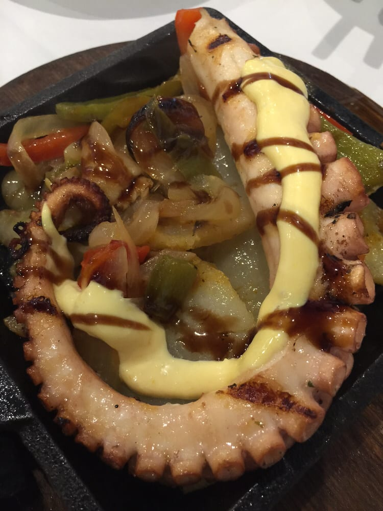 Grilled octopus yelp for Garcia s seafood grille fish market miami fl
