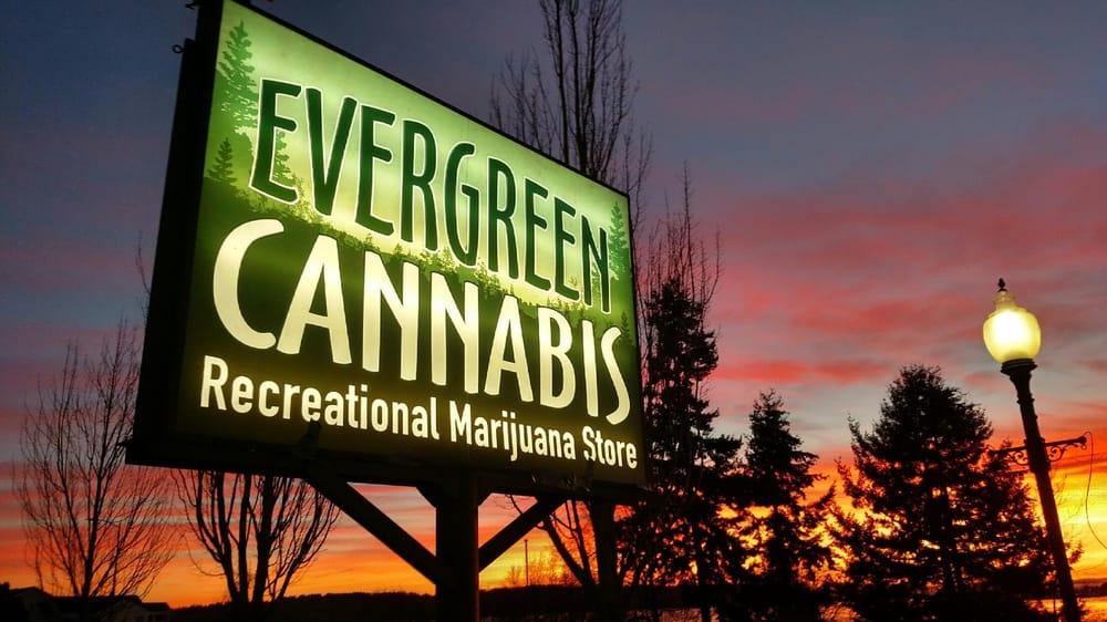 Evergreen Cannabis: 922 Peace Portal Dr, Blaine, WA