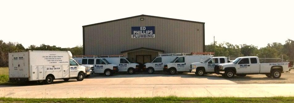 Ed Phillips Plumbing: 4556 Gloria Allen, College Station, TX