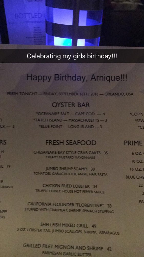 Made Her Feel So Special By Making Her A Special Personalized Menu