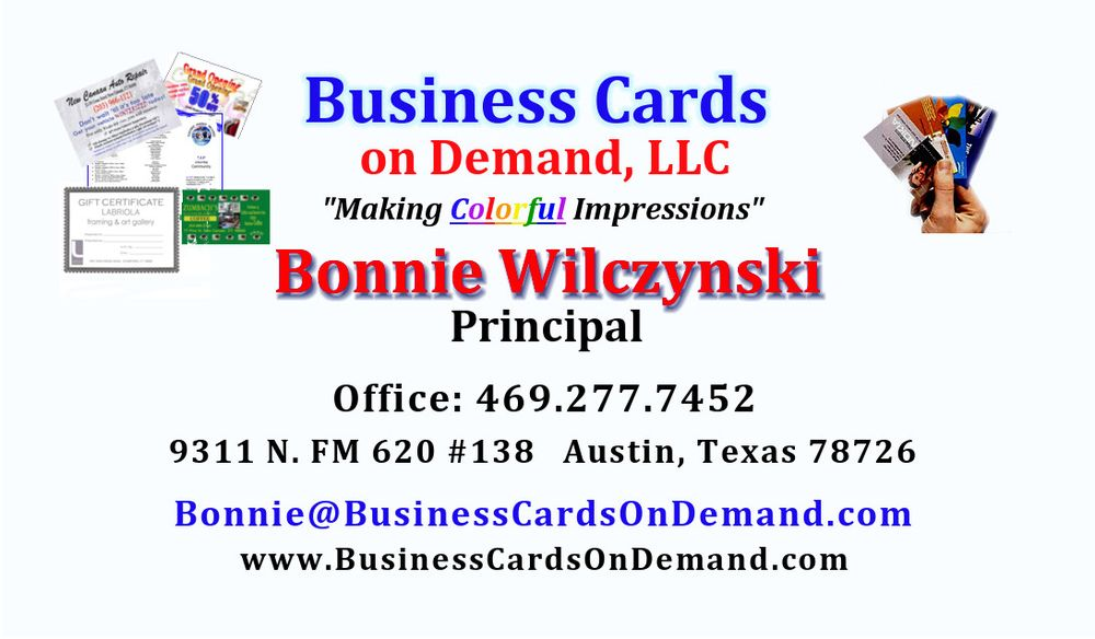 Business Cards On Demand