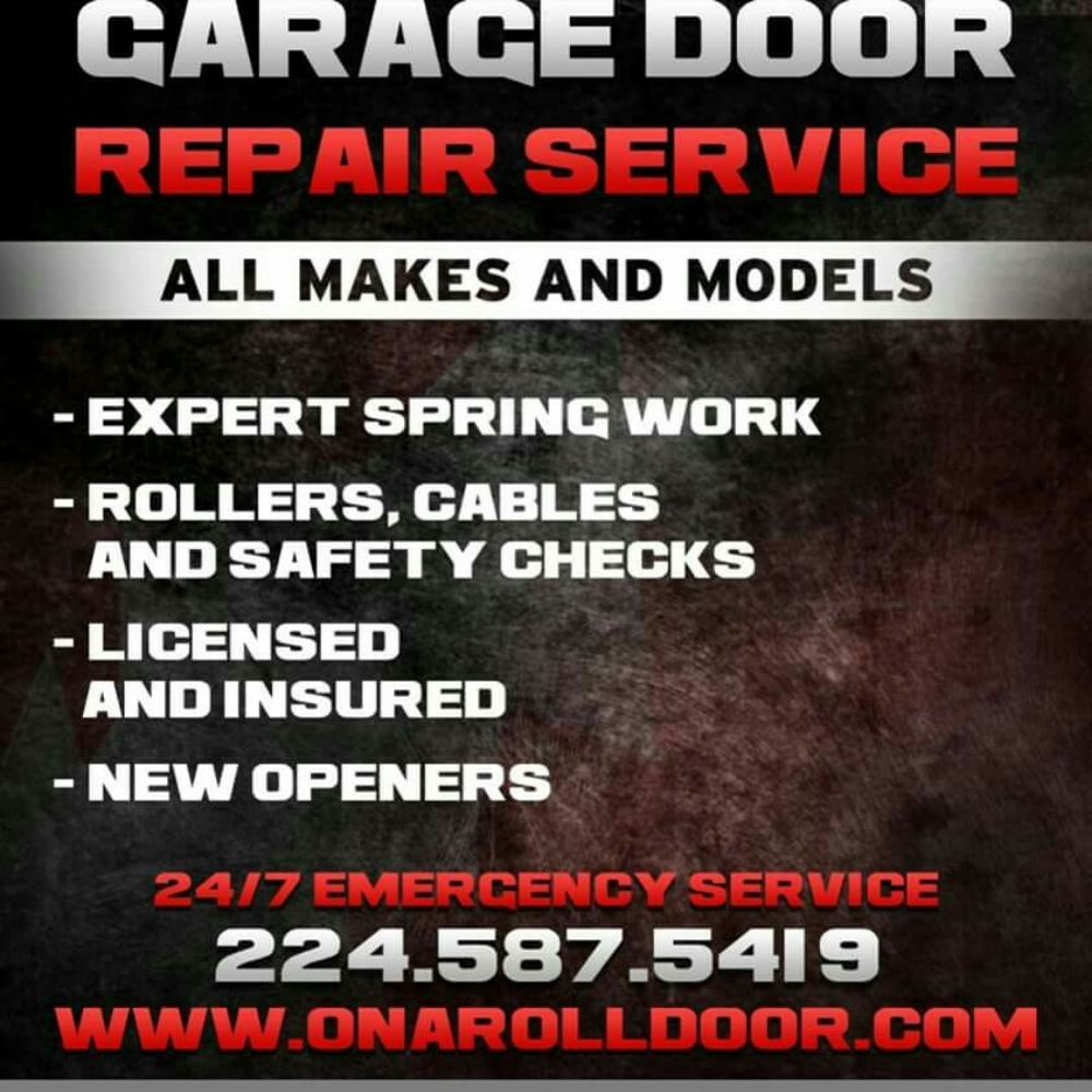 On A Roll Residential Garage Doors: 1 E Clarendon St, Arlington Heights, IL