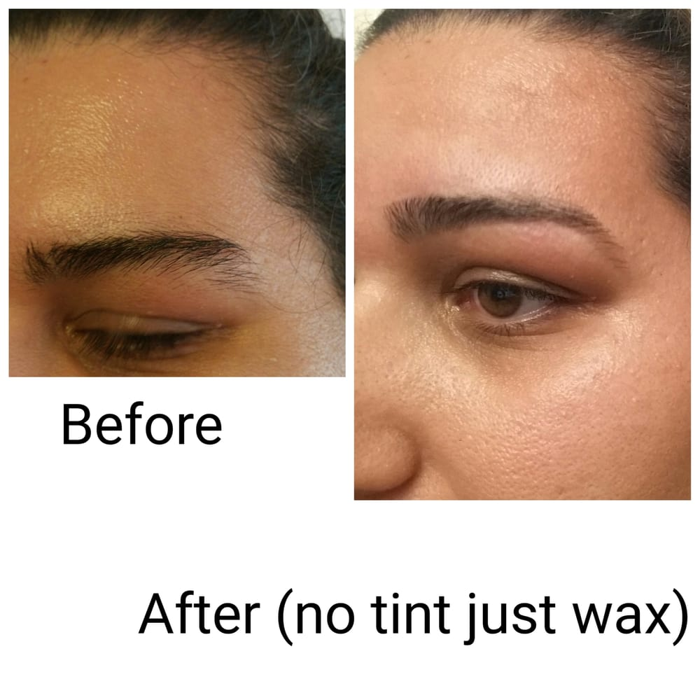 Before And After My First Waxing Look At The Difference Note My