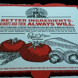 Papa John's Pizza - Pizza - 1530 Oakland Ave, Indiana, PA ... Papa Johns Pizza Box Opened