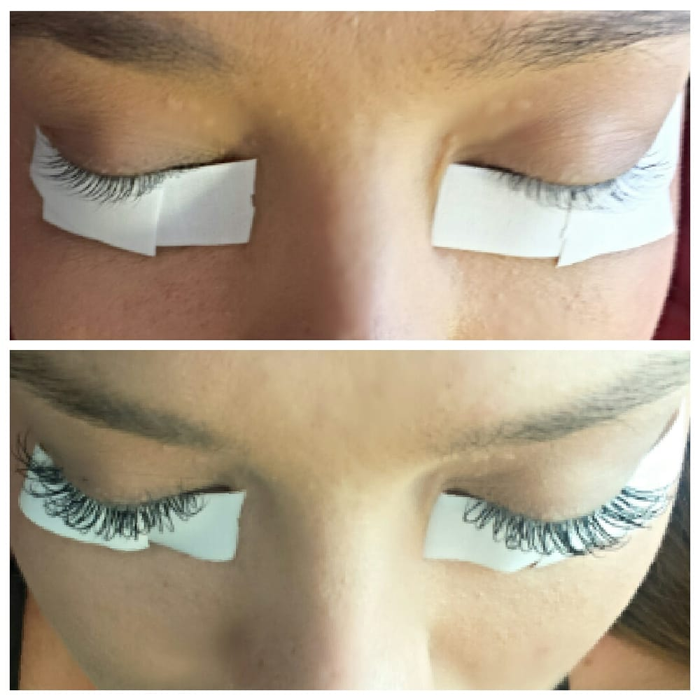 Before And After Eyelash Extensions Rhaina Is The Best And Most