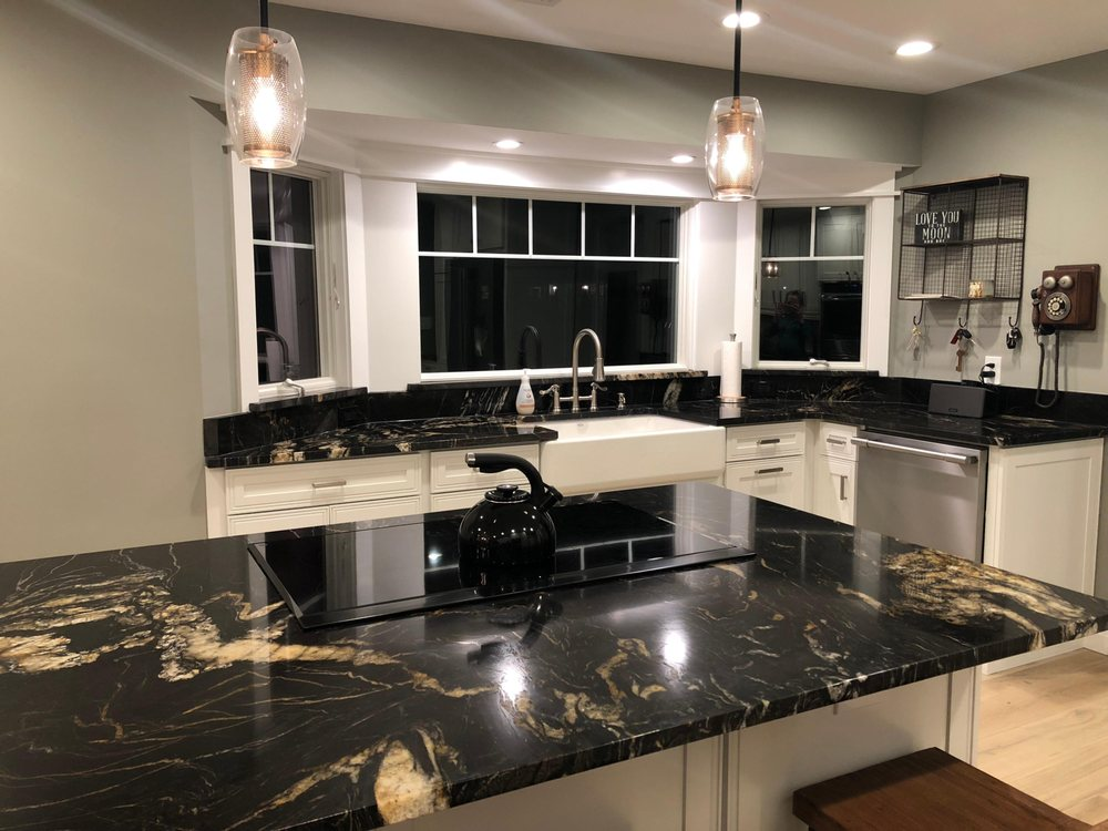 Decora Cabinetry And Titanium Black Countertops Yelp