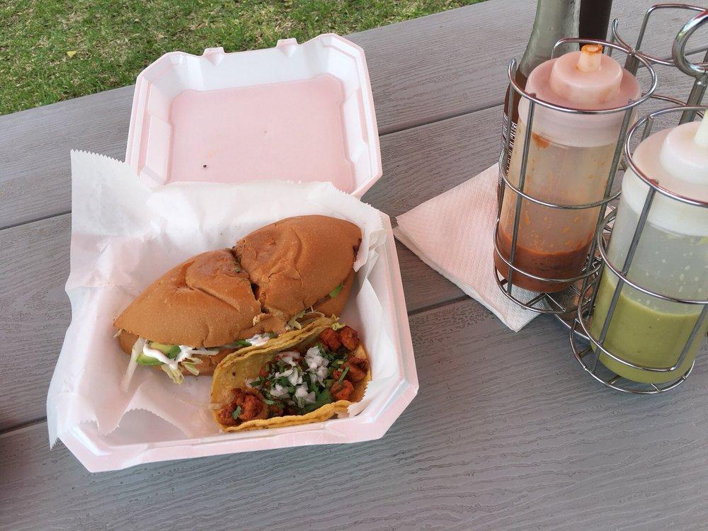 Food from Taco Mania