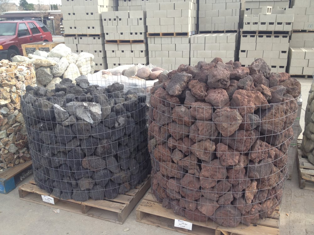 Photo of American Builders Supply - Santa Clarita, CA, United States. Lava  rock - Lava Rock For Your Fire Pit! - Yelp