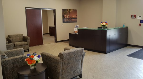 Ordinaire Photo Of Crider Contract Interiors   Fullerton, CA, United States.  Corporate Reception Station