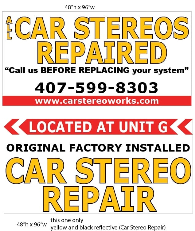All Car Stereos Repaired