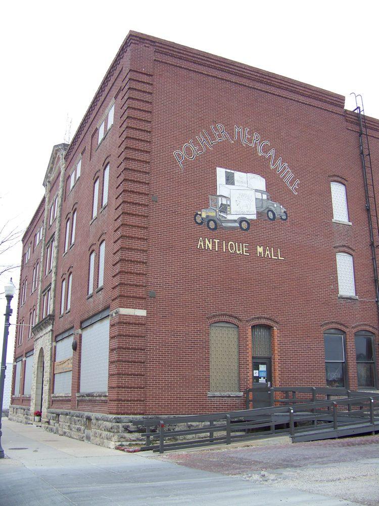 Poehler Mercantile Antique Mall: 301 Commercial St, Emporia, KS