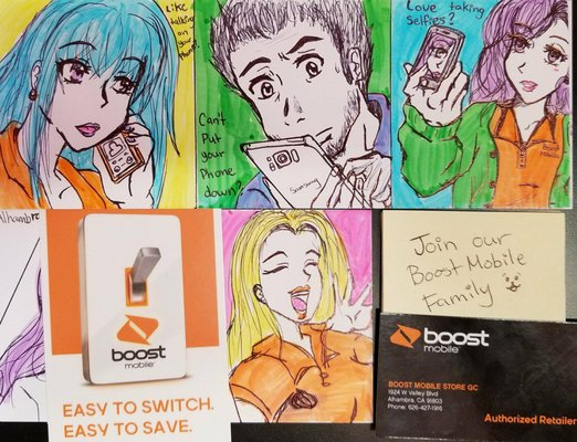 Boost Mobile 1924 W Valley Blvd Alhambra, CA Cell Phones