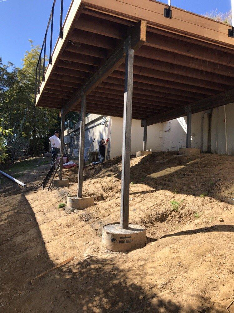 Photo Of La Decks Los Angeles Ca United States Hillside Deck Foundation