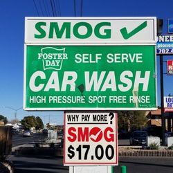 Foster Day Smog Center Closed Car Wash 5975 W Flamingo Rd Las
