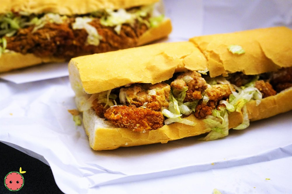 Food from NOLA Poboys