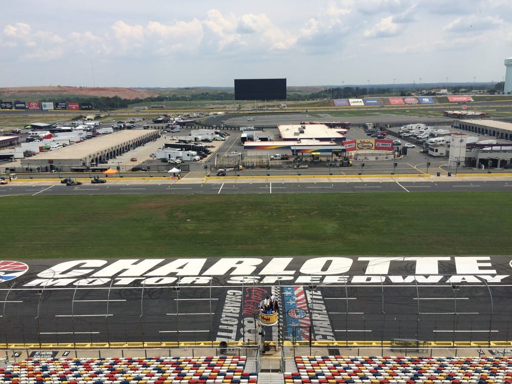 My view from race control yelp for Charlotte motor speedway concord parkway south concord nc